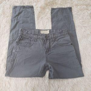 Boys size 12 lucky brand grey wash jeans